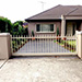 Automatic Sliding Gate with Spear Tops