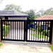 Automatic Twin Metal Swinging Gates