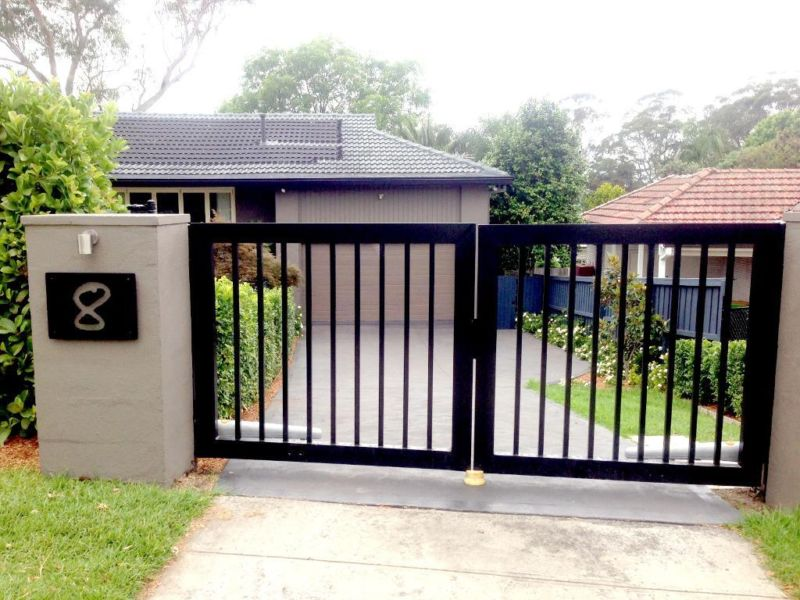 Gate opener installations automatic fence