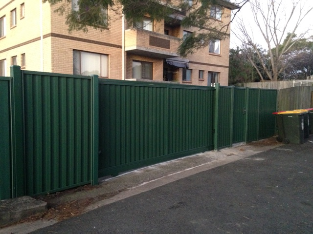 Automatic Sliding Driveway Gate - Marrickville