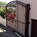 Phobos Electro-Mechanical Swing Gate Operator mounted on our outward swinging driveway gate (site: Maroubra)